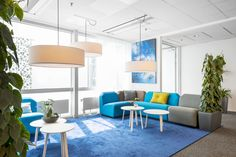 Cumulus at CellaVision office. Interior by Addentity Interior.
