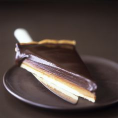 Schokoladentarte mit Karamell