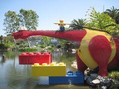 Dino Island - LEGOLAND California Legoland California, Carlsbad California, Dino Island, Legoland Park, Modele Lego, Lovely Good Night, Lego Sculptures, Lego Worlds, Anything Is Possible