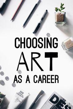 Choosing Art As a Career · SemiSkimmedMin