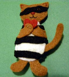 Cat Burgler Stole My Heart by FudgeandPoppy on Etsy, £5.00