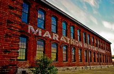 "Marathon Village aka ""Nashville's Creative Neighborhood"" is home to artists, photographers and designers"