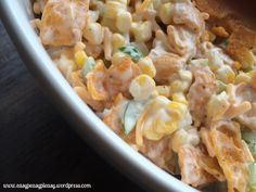 This Frito Corn Salad is your go to crowd pleasing perfect potluck salad. Super easy to make ahead of time and mix right before serving. Check out all my tips to make the perfect potluck salad. Make Ahead Salads, Easy Salads, Summer Salads, Frito Corn Salad, Corn Salads, Corn Dishes, Veggie Side Dishes, Easy Salad Recipes, Side Dish Recipes