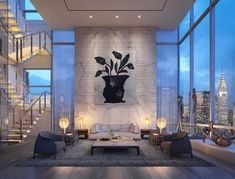 Madison Avenue Penthouse by ODA Architecture (1):