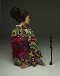 Cross-Cultural Couture - Wafrica Kimonos (GALLERY)