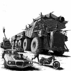 Esercito del mastica pelle gaslands in 2019 post apocalyps Zombie Survival Vehicle, Survival Prepping, Mad Max Trailer, Apocalypse, Post Apocalyptic Art, Mad Max Fury Road, Armored Vehicles, End Of The World, Dieselpunk