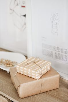 Wrapping - Gift - Print - Paper - Twine - Design - Photography - Content - Graphic Designer - Minimal - Packaging Wrapping Gift, Graphic, Designer, Minimal, Wraps, Packaging, Content, Interiors, Lifestyle