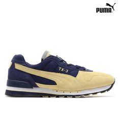 Puma TX-3: Pastel Yellow/Peacoat