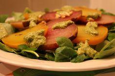 Sieht Judiths Salat nicht wunderbar farbenfroh und ganz und gar lecker aus?