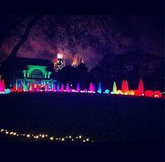 """Garden Lights, Holiday Nights"" at the #Atlanta Botanical Garden. #Georgia"