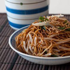 Soy Sauce Chow Mein by SophiaSofei, via Flickr