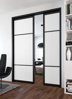 porte coulissante galandage lapeyre en applique belle appliqu s et salons. Black Bedroom Furniture Sets. Home Design Ideas