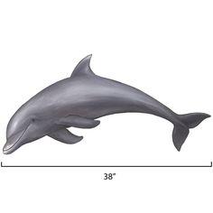 Medium Dolphin 1 Wall Sticker