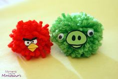Poms - Moments with the Montano's: Angry Bird Invasion