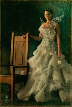 The Hunger Games is Catching Fire with Couture Fashion Line#Katniss Everdeen #The Hunger Games #Catching Fire #Fashion