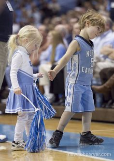 Fans at a young age!