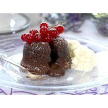In Norwegian: sjokoladefondant