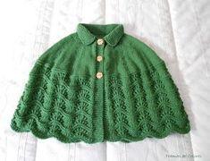 Mañanitas de Punto - Tramas de Colores Knitted Capelet, Crochet Poncho, Crochet Granny, Poncho Design, Knitting Machine Patterns, Shawl Patterns, Crochet Videos, Baby Knitting, Clothes