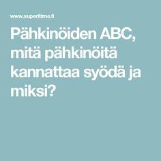 Pähkinöiden ABC, mitä pähkinöitä kannattaa syödä ja miksi?