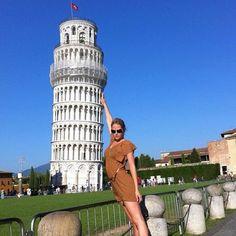 Genevieve Morton in #Pisa