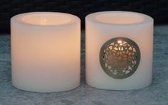 Oriental Cilinder Wit | Candles | Silk`n Honey