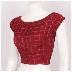 Blouse Back Neck Designs, Simple Blouse Designs, Stylish Blouse Design, Blouse Simple, Simple Designs, Indian Blouse Designs, Saree Jacket Designs, Cotton Saree Blouse Designs, Sari Design