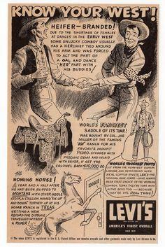 Levi's AD, 1954                                                       …