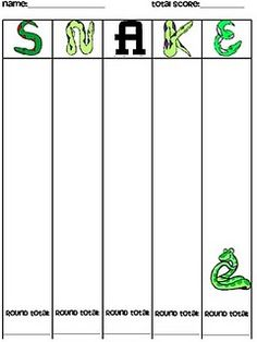 for playing Snake, a whole class dice game. Can be used with addition or multiplication. Looks like fun.Directions for playing Snake, a whole class dice game. Can be used with addition or multiplication. Looks like fun. Fractions, Math Multiplication, Math Stations, Math Centers, Math Resources, Math Activities, Math Strategies, Steam Activities, English Activities
