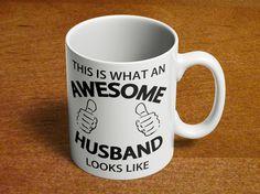 Funny Husband Mug   Dad Mug   Birthday Gift for Dad   Fathers Day Gift   Awesome Husband Looks Like   Funny Mug   11oz Ceramic 80