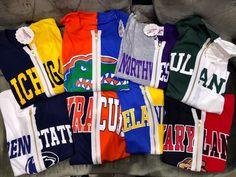 Full Zip Half & Half T- Shirt