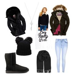 """The Cover Up – Jackets by Superdry: Contest Entry"" by jbarajas286 ❤ liked on Polyvore featuring Glamorous, BeckSöndergaard, UGG and Superdry"