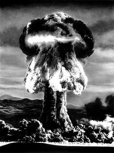 "Incredible explosive charcoal drawings by American painter and sculptor Robert Longo, born in 1953 in Brooklyn, New York. Robert""s charcoal drawings series Explosion Drawing, Bomba Nuclear, Charcoal Art, Charcoal Drawings, Graphite Drawings, Pencil Drawings, Mushroom Cloud, Hiroshima, Nagasaki"