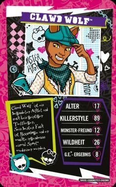 Top Trumps - Monster High #toptrumps #monsterhigh