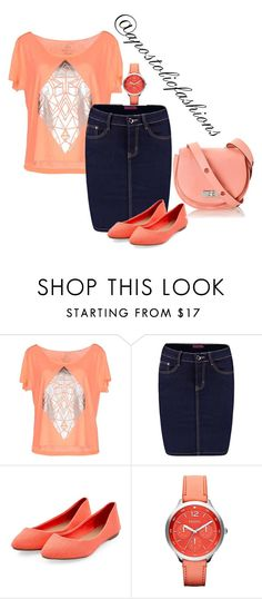"""Apostolic Fashions #1425"" by apostolicfashions on Polyvore featuring Only Play, Boohoo, Marc by Marc Jacobs and FOSSIL"