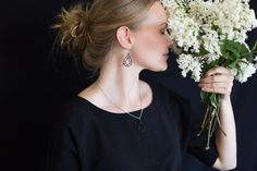 Wooden Jewelry, Earrings, Fashion, Ear Rings, Moda, Stud Earrings, Fashion Styles, Ear Jewelry, Fashion Illustrations