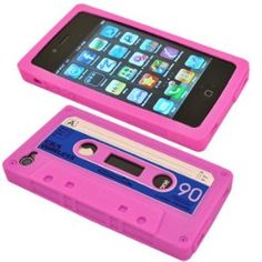 cassette tape case for iPhone... Ummm when I get the 4 I must get.