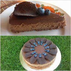 Nepečený čokoládový cheesecake, recept, Nepečené zákusky | Tortyodmamy.sk Cheesecake Brownies, No Bake Desserts, Tiramisu, Food And Drink, Cupcakes, Baking, Ethnic Recipes, Cheese Cakes, Cheesecakes