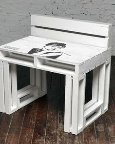 Audrey biurko z palet