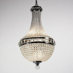 Push the envelope a little and add this chandelier to a more casual setting.