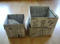 Box newspaper