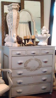Turn of the Century Chest w/Seven Drawers