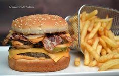 """Ma cuisine au fil de mes idées...: Burger """"Big bacon"""""""