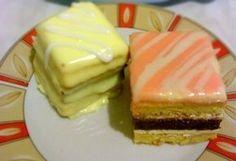 Citromos mignon 2. Hungarian Cuisine, Hungarian Recipes, Hungarian Cake, Hungarian Food, Small Cake, Macaron, Sweet And Salty, High Tea, Cheesecake
