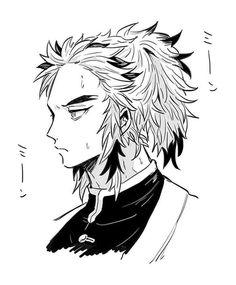 Kimetsu no Yaiba [Doujinshi] - RenTan - Page 2 - Wattpad Cute Anime Boy, Sketches, Demon Hunter, Slayer Anime, Demon, Art, Humanoid Sketch, Manga, Doujinshi