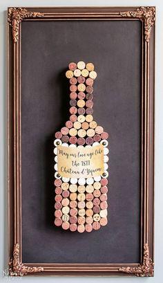Cork Art for the Cork Dork - TheNavagePatch.com