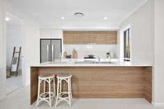 Hudson Homes Display home in Thornton Home Decor Kitchen, Kitchen Design, Hudson Homes, Home Phone, Display Homes, Double Vanity, Mirror, Luxury, Furniture