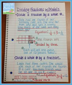 Teaching With a Mountain View: Dividing Fractions