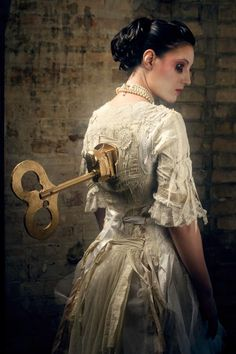 """I'm just a doll on a music-box/that's wound by a key."" ~~Chitty Chitty Bang Bang"