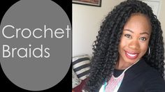 Natural looking crochet braids using Model Model Bahama Curl. Favorite ...
