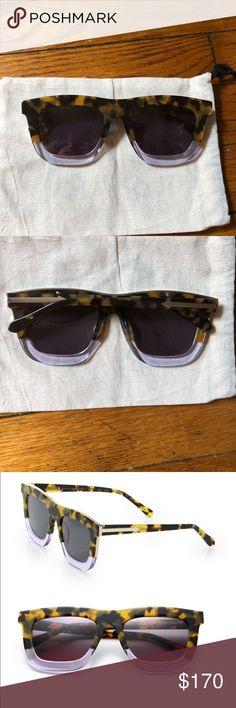 dec054487fe Karen Walker Orchard Tortoise  Clear Sunglasses The Karen Walker Deep  Orchard is a large unisex